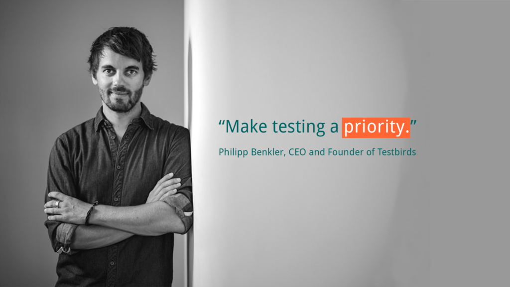 Successful QA tests quote 1