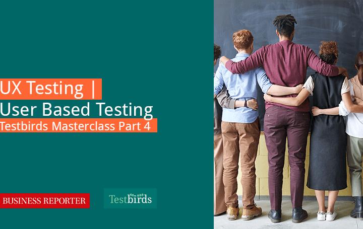UX Testing User Based Testing header