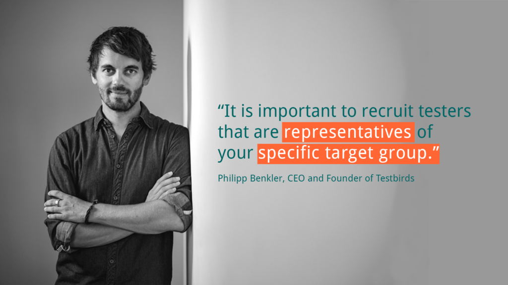UX Testing User Based Testing Quote Philipp Benkler