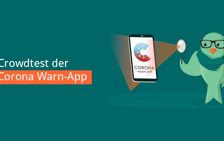 corona app test