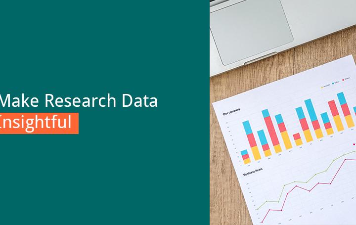 make research data insightful