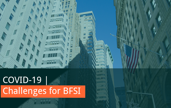 covid 19 challenges bfsi
