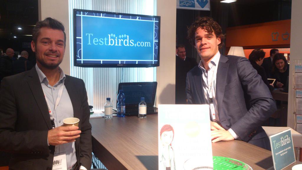 André & Lodewijk @ Webwinkel Vakdagen