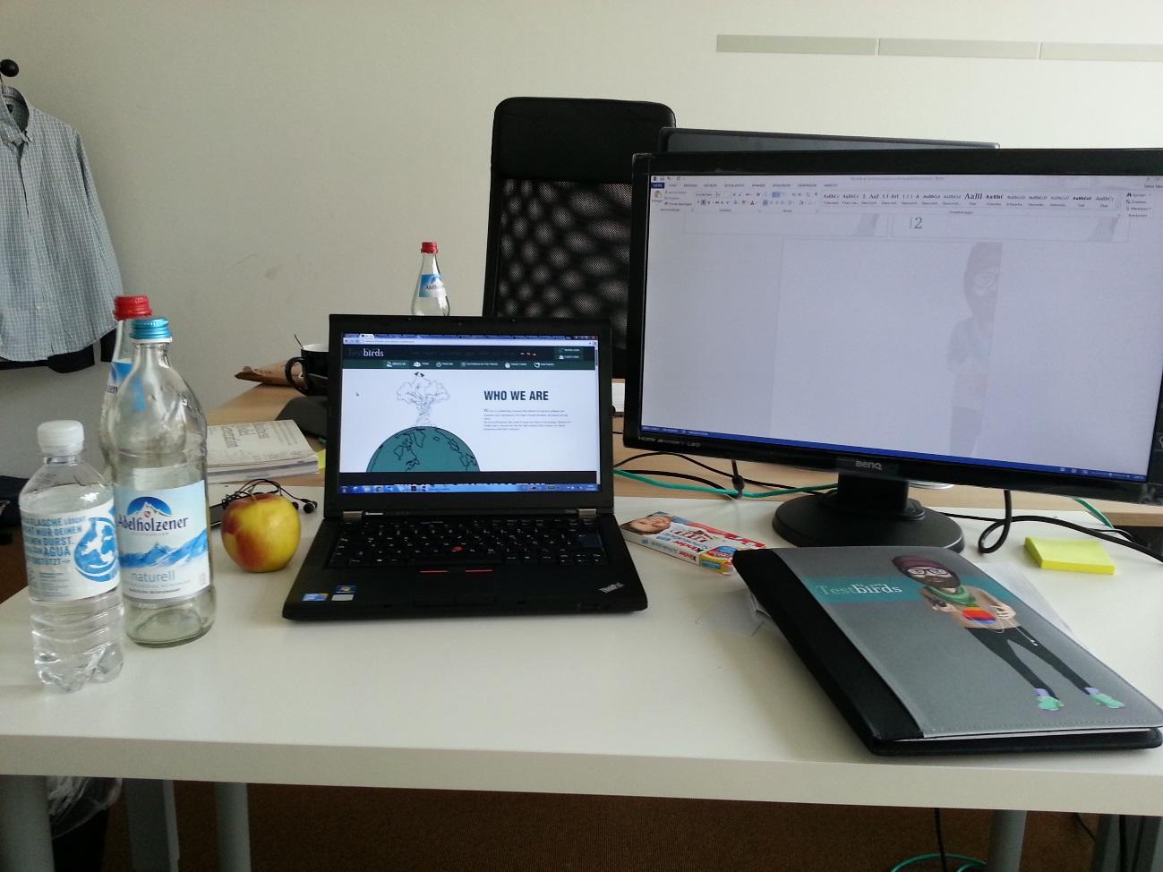Sören's Desk