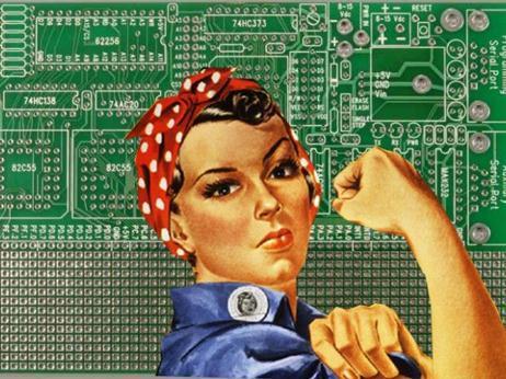 woman-mainboard