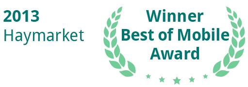 Haymarket-winner-best-of-mobile-award