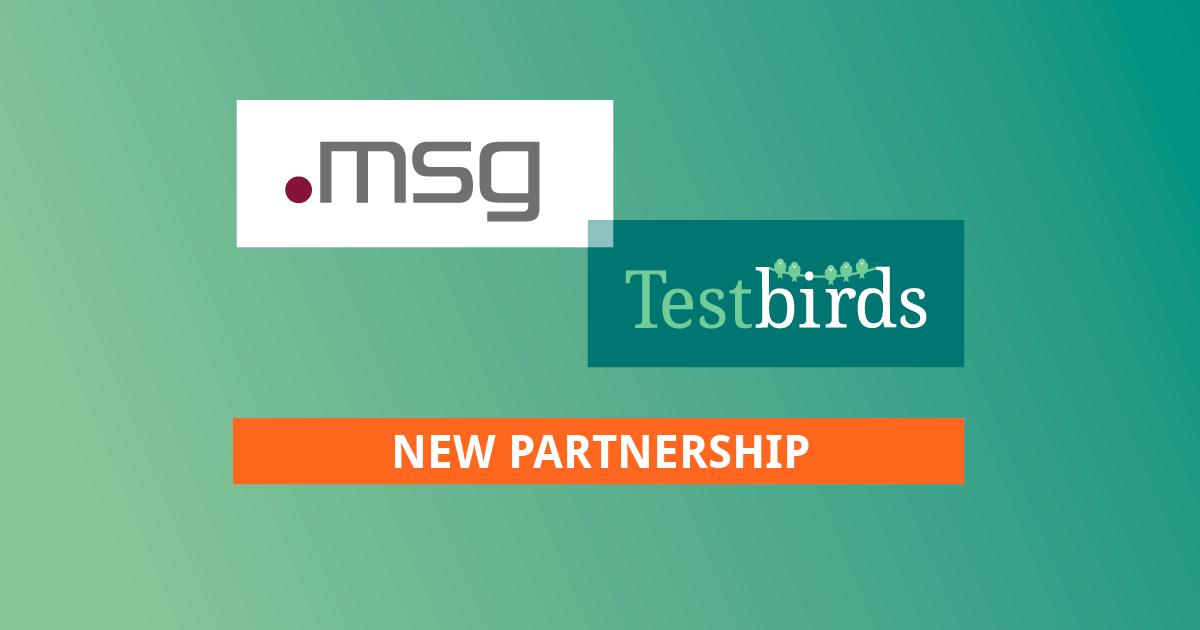 msg und Testbirds wollen Crowdtesting gemeinsam auf neues Level bringen
