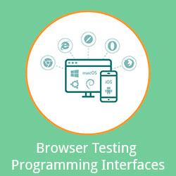 Browser Testing – Programming Interfaces