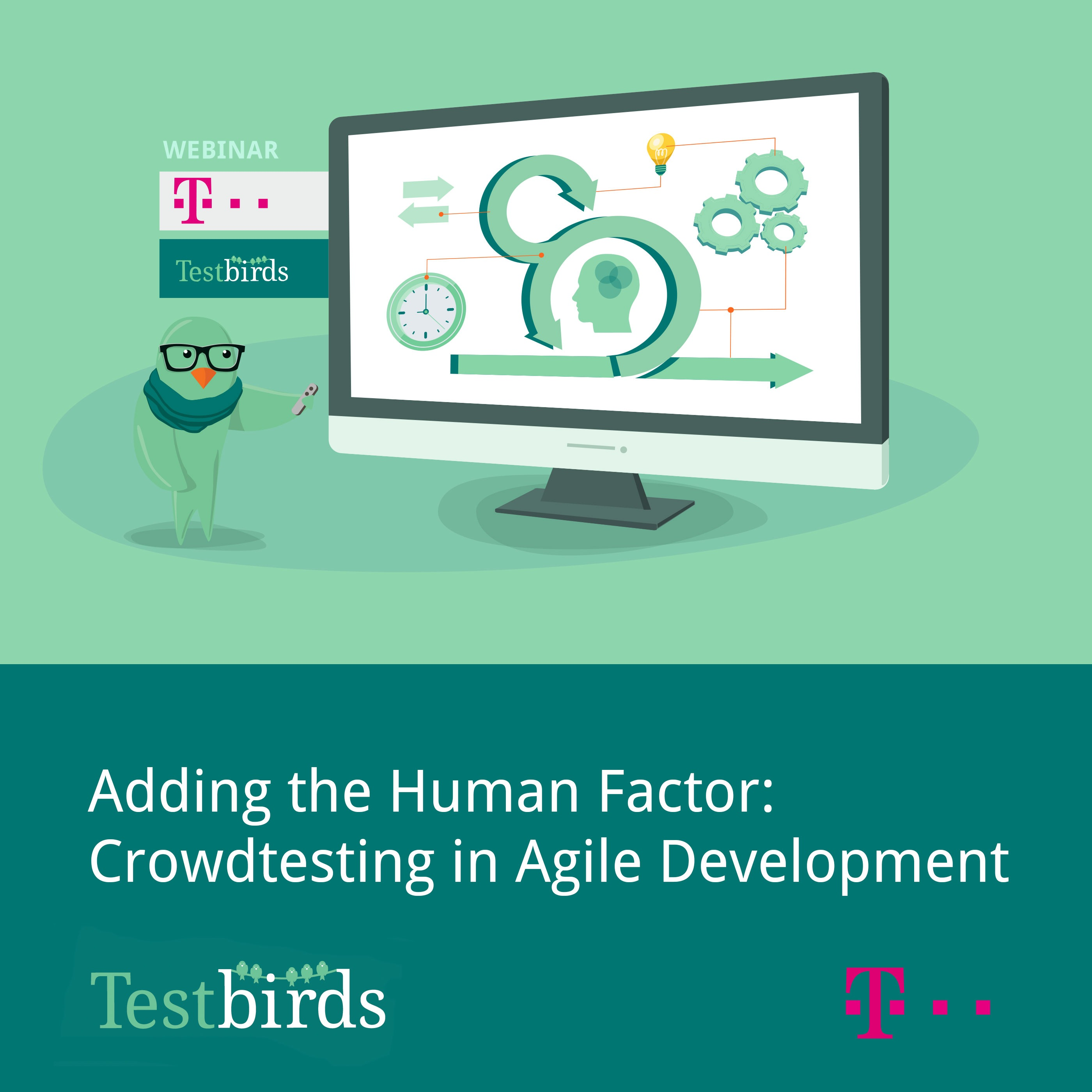Adding the Human Factor: Crowdtesting in Agile Development