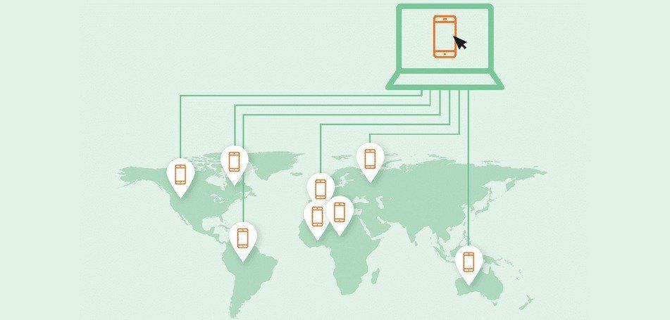 Global Real Device Network: Testing on real end-user devices