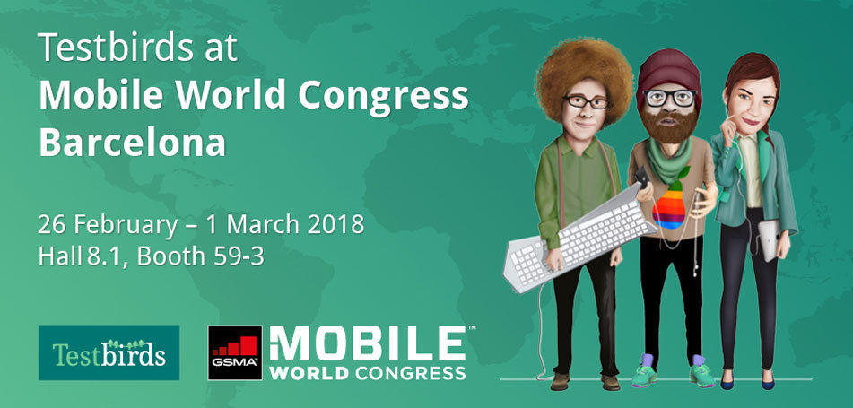 MWC 2018: Win a testing budget & VIP-party-bus tickets