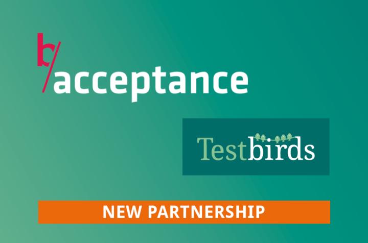 testbirds-b-acceptance-press-release-partnership